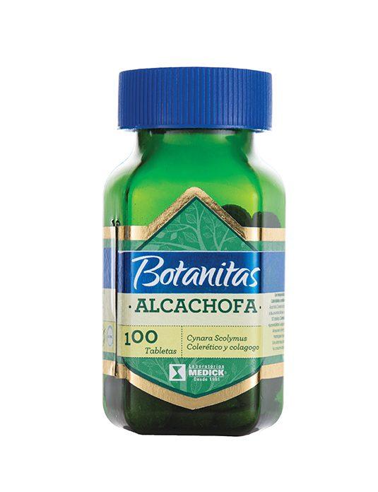 Recipiente de alcachofa en tabletas