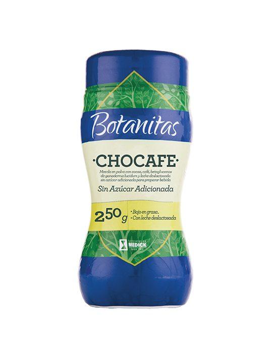 Recipiente de Chocafe sin azúcar adicionada
