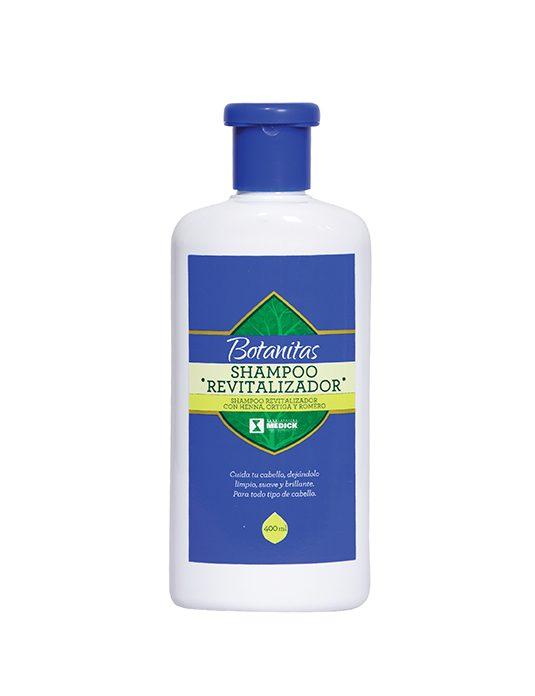 Recipiente Shampoo Revitalizador
