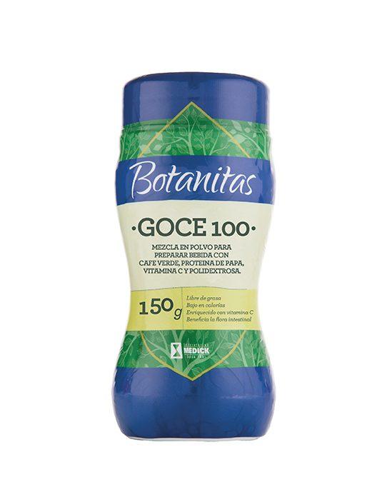 Recipiente Goce 100 mezcla en polvo